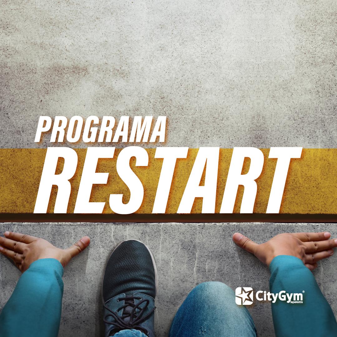 RESTART – A tua boa forma recomeça aqui!